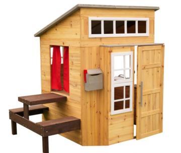 Casita de madera Modern Outdoor uso privado