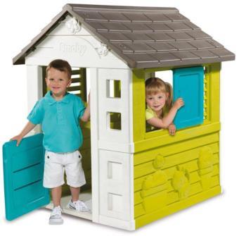 Casita Pretty House, casitas infantiles, casitas de jardín, casitas de plástico, casitas smoby, tienda smoby, tienda al aire libre, tienda de casitas,