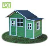 Casita de madeira infantil Loft 150 Green