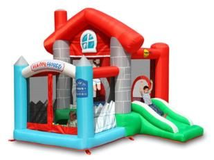 castillo inflable happy home