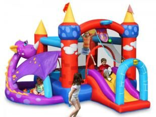 Castillo inflable Dragon Quest