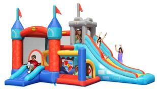 castillos inflables, castillos hinchables, happyhop, inflables, hinchables, alquiler de hinchables,