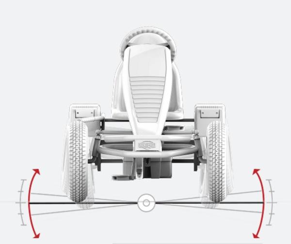 chasis karts pedales BERG XXL