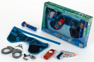 cinturón de policía, policía, juguetes educativos, klein