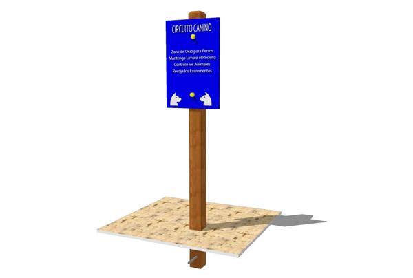 Panel informativo circuito canino, parque infantil canino, panel informativo, panel parque infantil, panel informativo, instruccines uso parque canino, parque canino informaciòn, circuitos para perros, circuitos de agility, circuitos caninos,