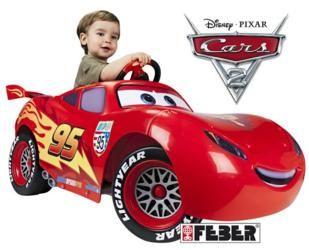 coches de feber, feber rayo mcqueen, feber, coches de batería, lightning mcqueen