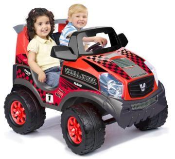 Challenger 12 V, coches de batería infantil, coche eléctrico infantil, coche de feber, feber, famosa, feber challenger, challenger 12 V de feber,