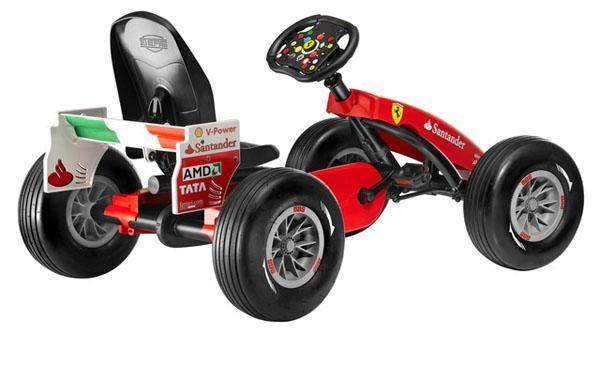 Coche De Pedales Berg Buddy Ferrari 150 Italia