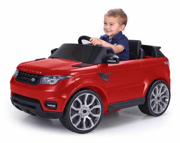 Coche Ranger Rover Sport 6v Con Control Remoto