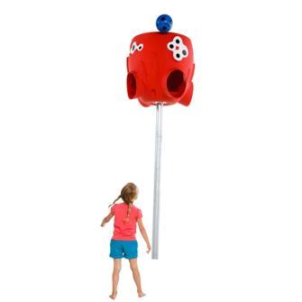 Juego del colector de bolas Pulpo, juegos para escuelas, juegos para el patio de una escuela, juegos para los recreos, juegos para escuelas, columpios, complementos para los parques infantiles,