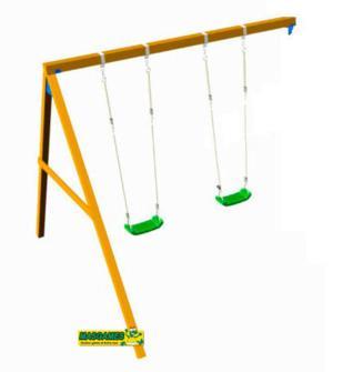 Columpio apoyado Masgames, Columpio para acoplar parque infantil, columpio parque infantil, columpio para torres, columpio doble Masgames, Columpio como accesorio