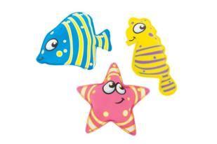 juego de piscina diving animals