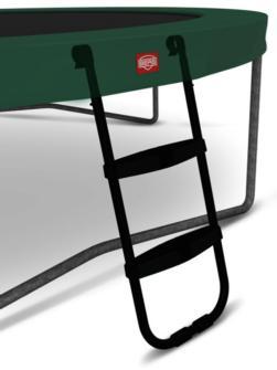 Escalera Berg L es compatible para algunas camas elásticas de Berg, como las Berg Elite y las grandes camas elásticas Champion y favorit