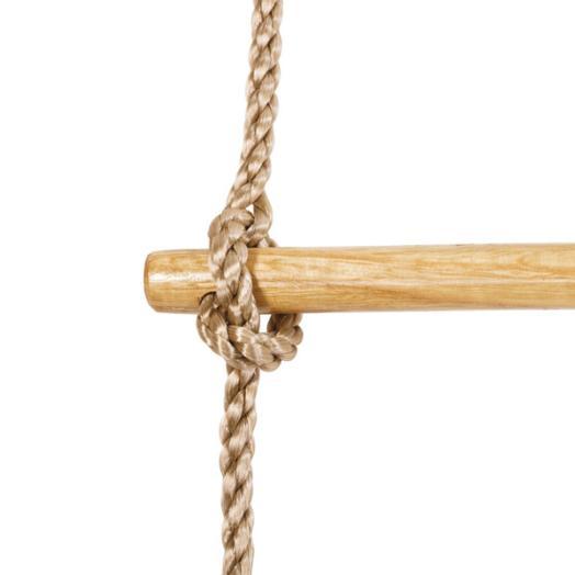 del producto el uso de esta escalera de cuerda larga slo est permitido bajo la vigilancia de un adulto el producto es adecuado para