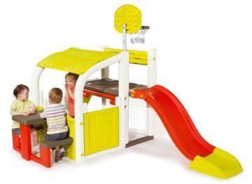 Fun Center, centros de actividades, centro de actividades, casitas infantiles, toboganes, smoby, feber,