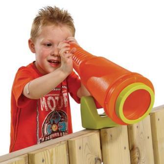 Grande telescópio, campo de jogos, parque infantil acessório, swing, slide,