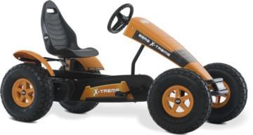Kart de pedales eléctrico BERG X-Treme E-BF, cuadriciclos eléctricos, cuadriciclos de pedales con ayuda eléctrica, karts de pedales con ayuda eléctrica, coches de pedales con ayuda eléctrica, vehículos de pedales con ayuda eléctrica, berg españa,
