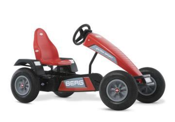 Kart de pedales BERG Extra Sport BFR-3 rojo, karts de pedales, coches de pedales, berg toys, cars de pedales, cuadriciclos, cuatriciclos, cuadriciclos berg, importador berg toys, berg toys españa, berg toys madrid, tienda berg toys,
