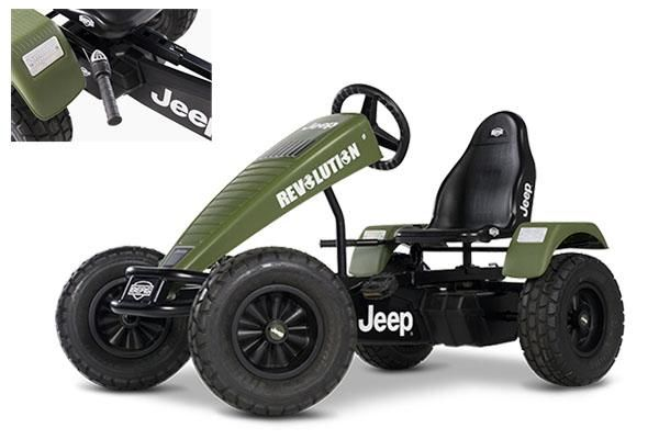 kart de pedales jeep revolutionn bfr 3. Black Bedroom Furniture Sets. Home Design Ideas