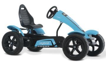 Kart de pedales eléctrico BERG Hybrid E-BF