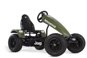 Kart pedales eléctrico BERG JEEP REVOLUTION E-BFR