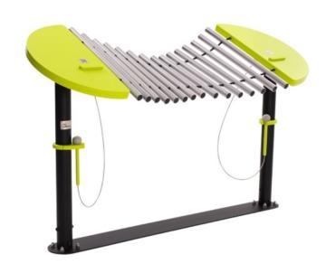marimba, marimba calypso, marimba juego musical, juego musical, juego instrumental marimba, instrumento marimba, instrumento marimba gran formato, juego instrumento marimba, juego marimba, juego musical exterior