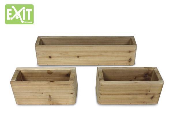 Macetas para casitas de madera infantiles - Casitas en macetas ...