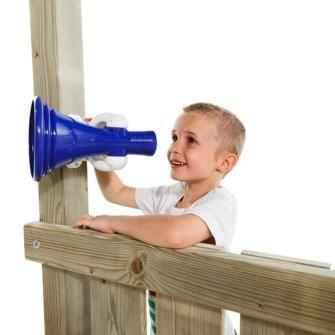 megafono infantil, megafono blue rabbit, parques infantiles blue rabbit, parques infantiles, columpios, toboganes, balancines, accesorios para parques infantiles, masgames, kbt