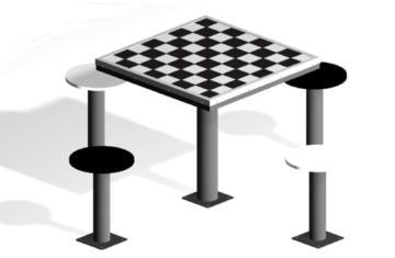 mesas de ajedrez, ajedrez gigante, mesas de juego, mesas multijuegos, juego de ajedrez de exterior, mesa de exterior, mesas de ajedrez de exterior, mesas metálicas de ajedrez de exterior