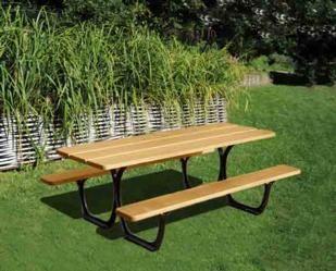 mesas exteriores, mesa de picnic, mobiliario urbano, procity