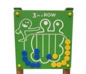 Panel de juego tres en raya