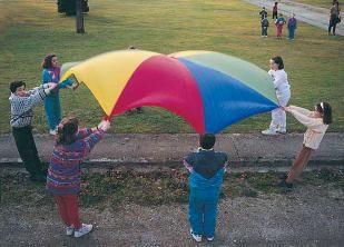 juego del paracaídas,paracaidas,paracaidas gigante,paracaídas gigante