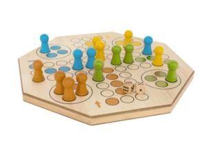 parchis de madera, juegos de mesa, masgames