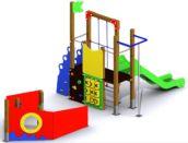 Parque infantil adaptado BARCO EXPLORADOR