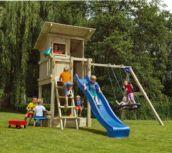 Parque infantil Beach Hut + columpios