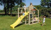 Parc infantil Crossfit amb tobogán