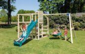 Parc infantil Crossfit amb tobogan + Gronxadors