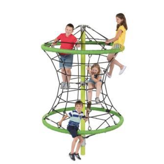 Parque infantil de cuerdas PERRY uso público