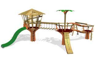 columpios, toboganes, isaba, parques infantiles isaba, yor, entorno urbano,