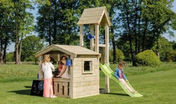 Parque infantil Blue Rabbit Lookout, columpios de madera, parques infantiles de madera, parques infantiles blue rabbit, parque infantil en forma de iglesia, parque infantil iglesia, columpios homologados, columpios blue rabbit, blue rabbit españa,