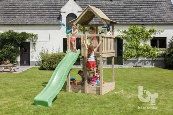 parque infantil torre pagoda parques infantiles columpios casitas elevadas infantiles masgames
