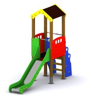 parque infantil Mini Segura, Segura Mini, Torre infantil Segura Mini, parque infantil Mini segura, Mini Singapur tobogán, torre infantil con tobobgán, Parques infantiles pequeños, torre infantil mini, tobogán con caseta, Loumarpark, parques infantiles