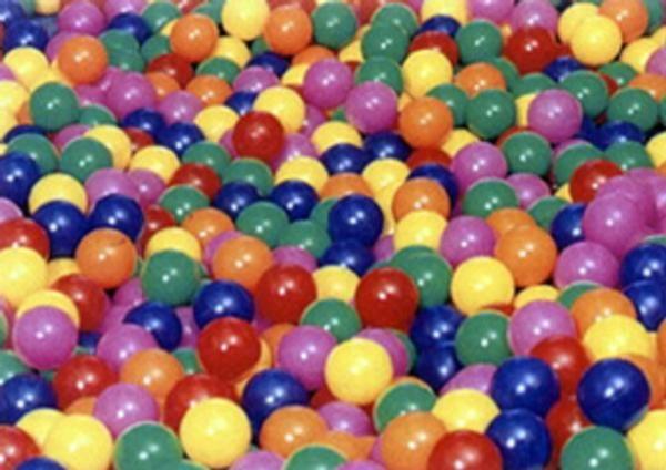 Bolas coloridas para piscinas de bolas for Piscinas de bolas para bebes