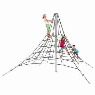 Pirámide de cuerdas 2,7 m de altura