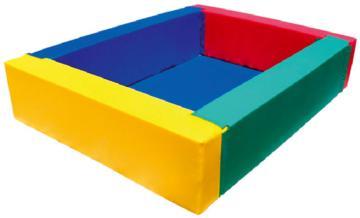 Piscinas de bolas blandas rectangulares