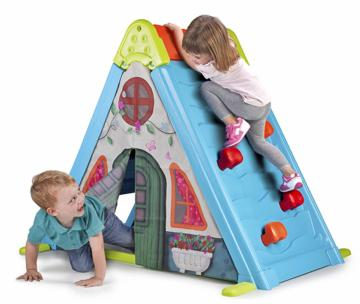 play and fold activity house 3in1