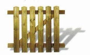 puerta de la valla de madera de exterior