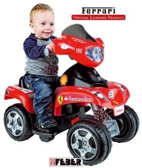quad, quad electrico, quad electrico para niños, coches electricos, feber, famosa