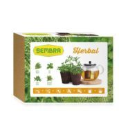 Kit horticultura urbana - Herbal