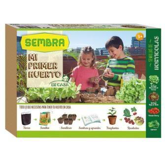 mi primer huerto de semillas fitó, semillas fitó, mi primer semillero, huerto urbano,